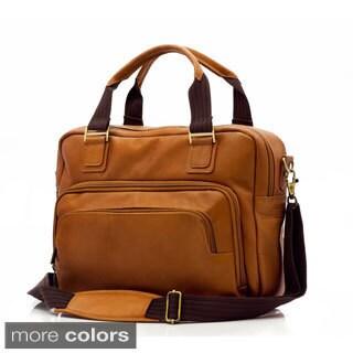 Muiska Paris Single Compartment Handmade Vaquetta Leather Briefcase