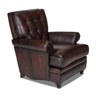 Pablo Alure Expresso Leather Chair