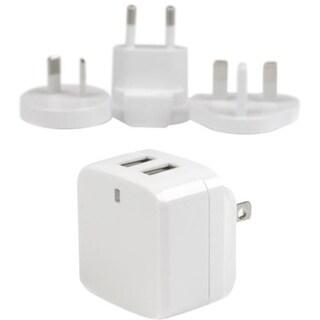 StarTech.com White Dual Port USB Wall Charger - High Power (17 Watt / 15165531