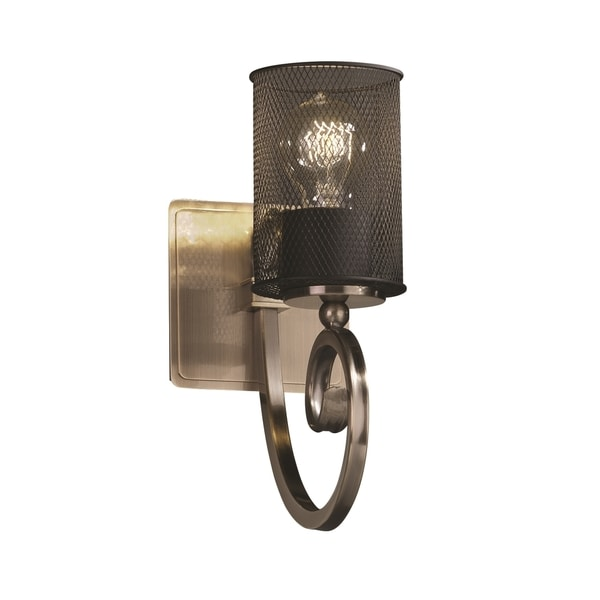 Justice Design Group Victoria 1-light Wall Sconce, Antique Brass