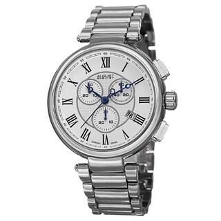 August Steiner Men's Swiss Quartz Chronograph Bracelet Watch