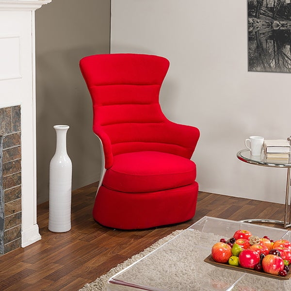Conundrum Fabric & Plastic Contemporary Armchair