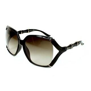 Gucci Women's 3508/S Plastic Rectangular Sunglasses