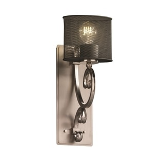 Justice Design Group Victoria 1-light Wall Sconce, Brushed Nickel