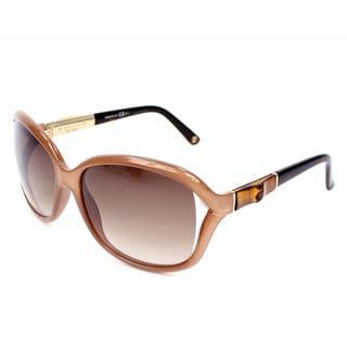 Gucci Women's 3671/S Plastic Rectangular Sunglasses