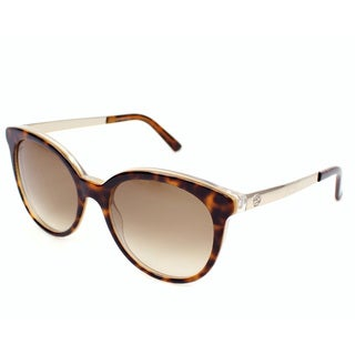 Gucci Women's 3674/S Plastic Rectangular Sunglasses