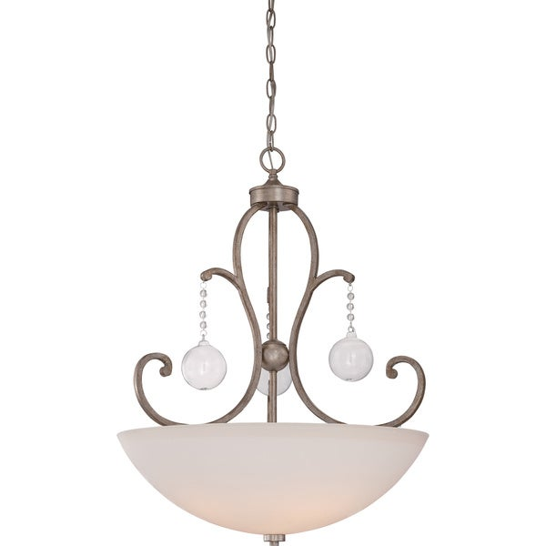 Ambrose Vintage Gold 4-light Pendant