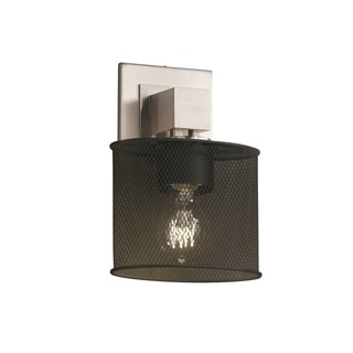 Justice Design Group Aero 1-light No Arms Wall Sconce, Polished Chrome