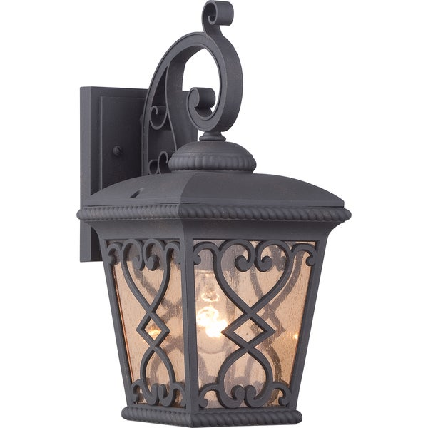 Fort Quinn Marcado Black Small Wall Lantern