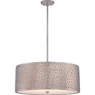 Confetti 5-light Old Silver Pendant