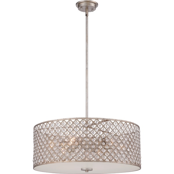 Quoizel Catherine 6-light Vintage Gold Pendant