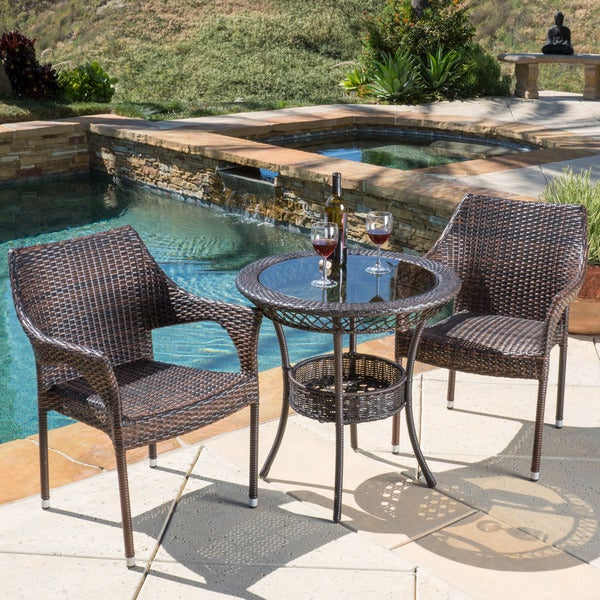 Christopher Knight Home Mirage Outdoor 3 piece Wicker