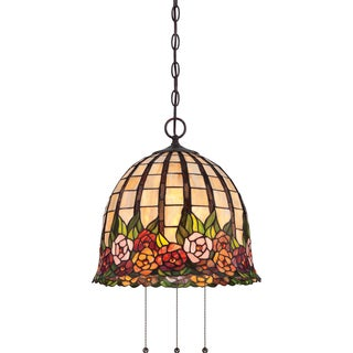 Tiffany - Rosecliffe 3 Light Imperial Bronze Pendant