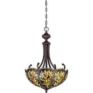 Belle Imperial Bronze 3-light Pendant