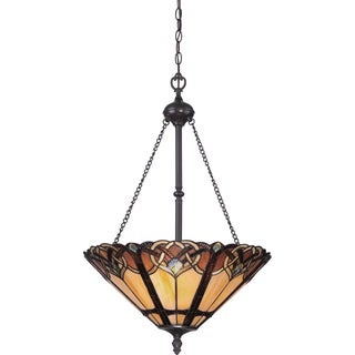 Cambridge Vintage Bronze 3-light Pendant