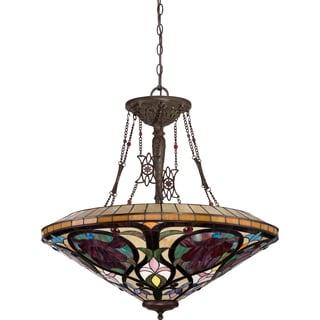 Larissa - Vintage Bronze 8-light Pendant