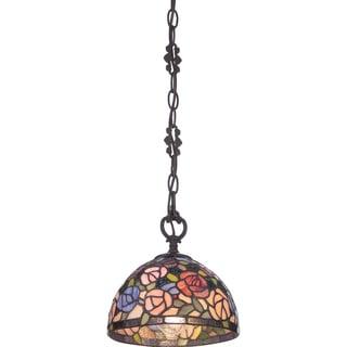 Rosa Imperial Bronze 1 Light Mini Pendant
