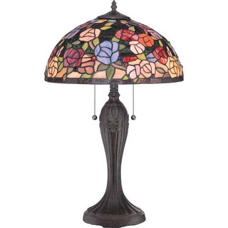 Rosa Imperial Bronze Finish Table Lamp