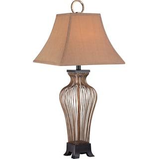 Quoizel Calvert 1-light Natural Table Lamp