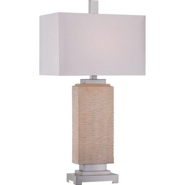 Quoizel Boone 1-light Natural Table Lamp