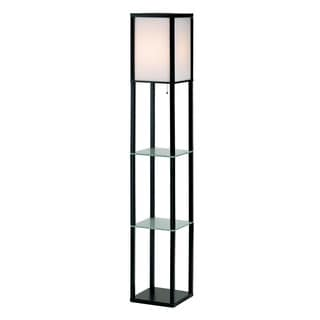 Berk Shelf 1-light Floor Lamp