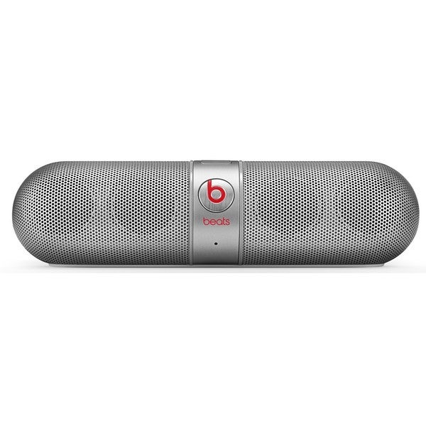 Beats by Dre Pill 2.0 Silver Portable Bluetooth Wireless Speaker