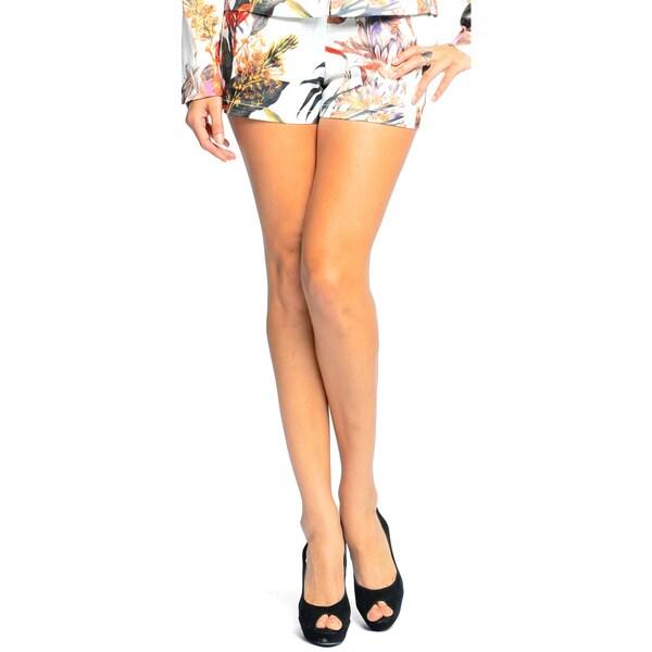 Sara Boo Women's Tropical Print Shorts