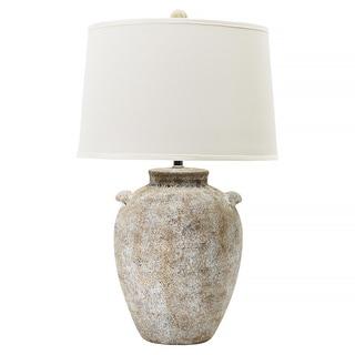Natural Concrete 26-inch Ceramic Table Lamp