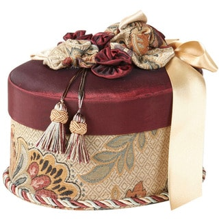Jennifer Taylor Oval Box/ Red