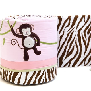 Pam Grace Creations 4-Piece Jolly Molly Crib Bumpers