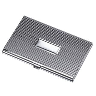 Visol Zeus Ribbed Business Card Case