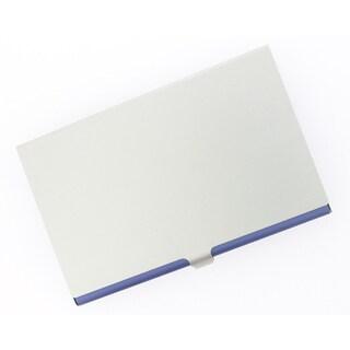 Visol Purple Aluminum Business Card Case
