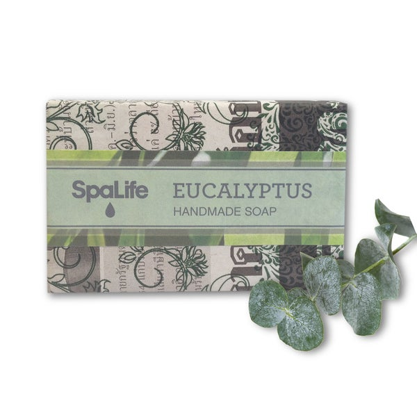 Spa Life Hand-made Eucalyptus Soap (Pack of 2)