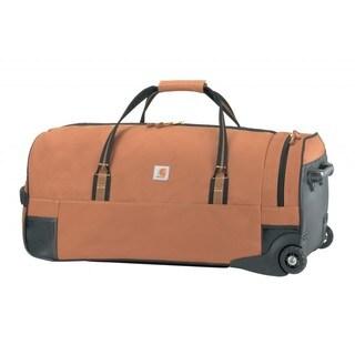 Carhartt Brown Legacy 30-inch Wheeled Gear Duffel Bag