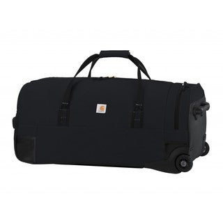 Carhartt Black Legacy 30-inch Wheeled Gear Duffel Bag