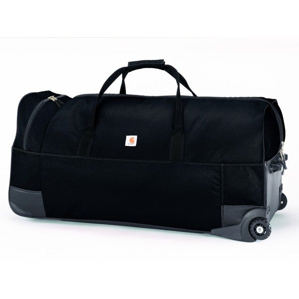 Carhartt Black Legacy 36-inch Wheeled Gear Duffel Bag