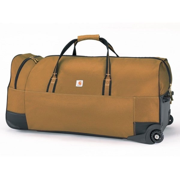 Carhartt Brown Legacy 36-inch Wheeled Gear Duffel Bag