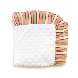 Pam Grace Creations Sweet Dream Owl Chenille Baby Blanket