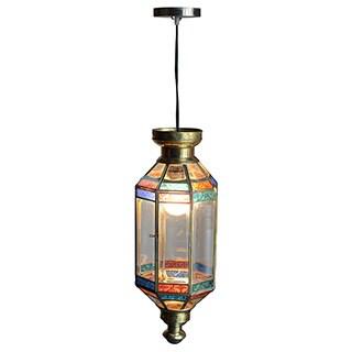 Decorative Crane Gold Elegant Tiffany Style Hanging Pendant Lamp