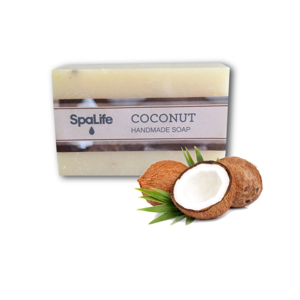 Spa Life Hand-made Coconut Soap (Pack of 2)