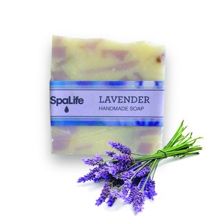 Spa Life Hand-made Lavender Soap (Pack of 2)