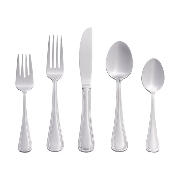 RiverRidge Catherine 46-piece Flatware Set