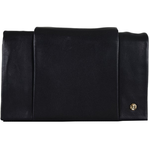 Halston Heritage Leather Wallet on a Chain