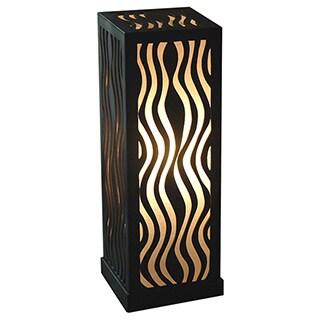 Decorative Austin Brown Geometric Transitional Table Lamp