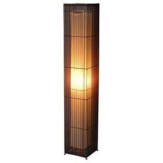 Decorative Arnold Brown Geometric Transitional Floor Lamp