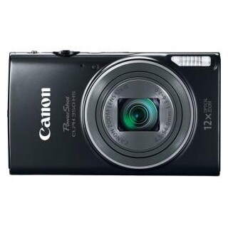 Canon Powershot 350 Black Digital Camera