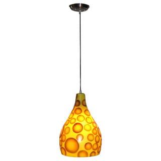 Decorative Roeland Brown Geometric Transitional Hanging Pendant Lamp