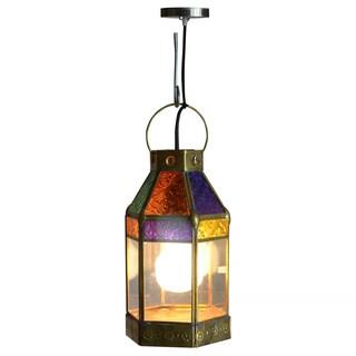 Decorative Commerce Gold Elegant Tiffany Style Hanging Pendant Lamp