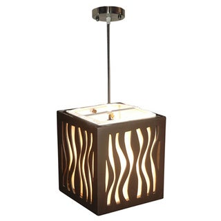 Decorative Alton Black Stripped Transitional Hanging Pendant Lamp
