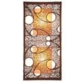 Decorative Bland Brown Geometric Transitional Hanging Pendant Lamp